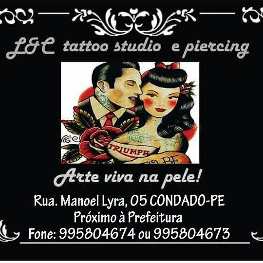 Patrocinador: L e C tatto studio e piercing