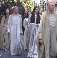 very pale elves