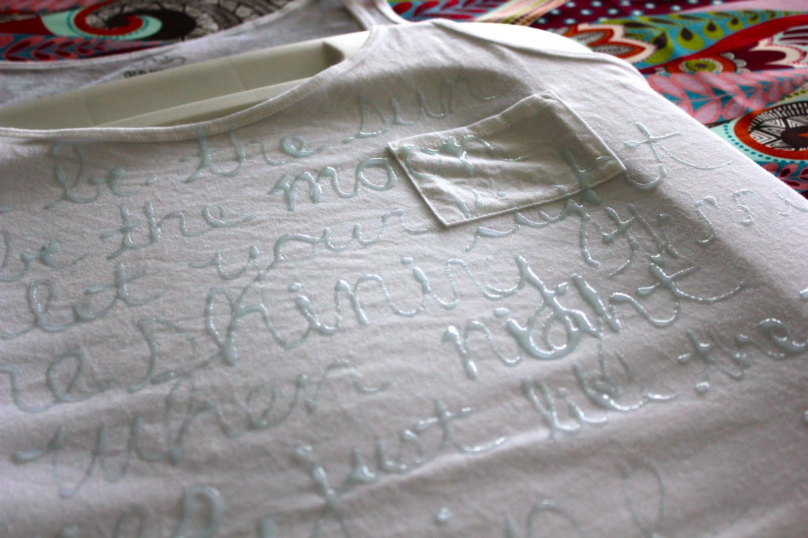 Как своими руками сделать рисунок на футболке в домашних условиях 86