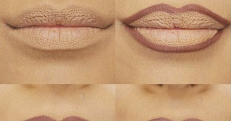 Makeup Trick For Bigger Lips Step By