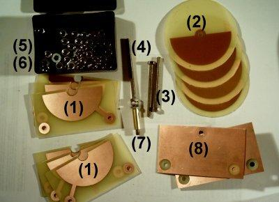 capacitor variavel caseiro