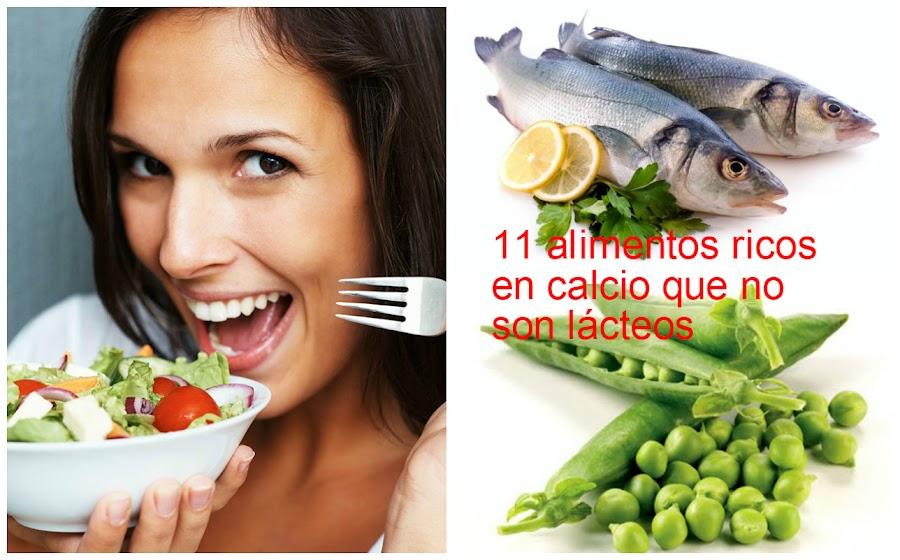 Alimentos que aportan calcio adem s de la leche salud - Alimentos naturales ricos en calcio ...