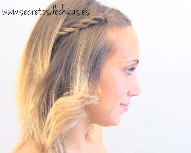 Peinados fáciles para cabello corto Short hair hairstyles YouTube - 5 peinados para cabello corto