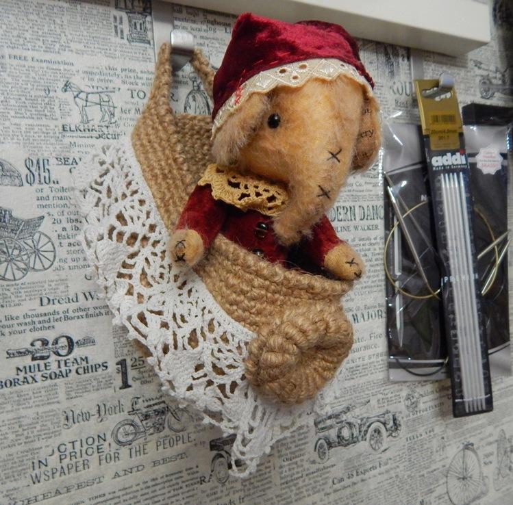 джутовое вязание