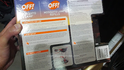 Off! Mosquito Lamp for your patio or outdoor deck