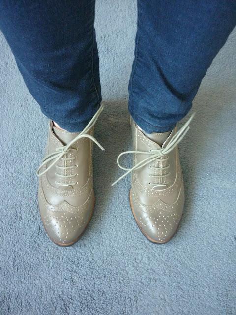 Brogues & Jeans | Petite Silver Vixen