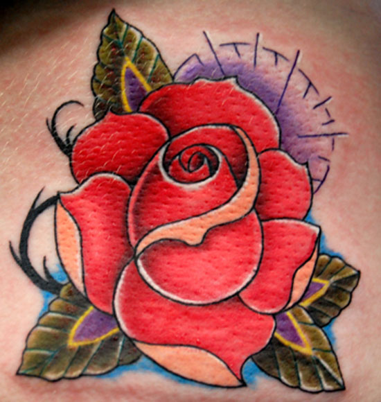 Traditional  This Style Of Tattoo Refers To Work That Features Bold