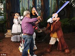 Mickey Mouse v George Lucas