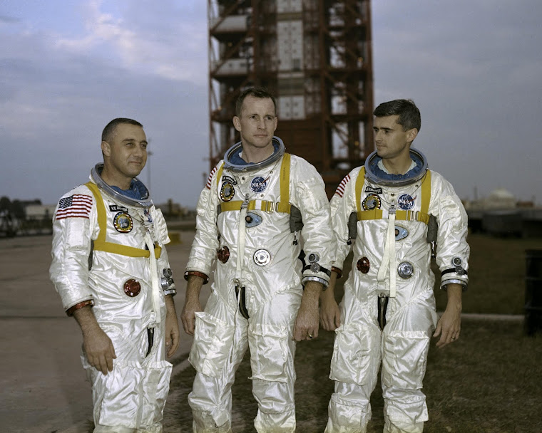 THREE GREAT HEROES AND SPACE PIONEERS!