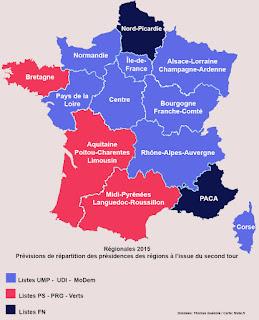 1er tour des régionales 2015
