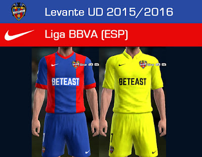 PES 2013 Levante UD 2015/2016 GDB update 1 by Dark Shimy