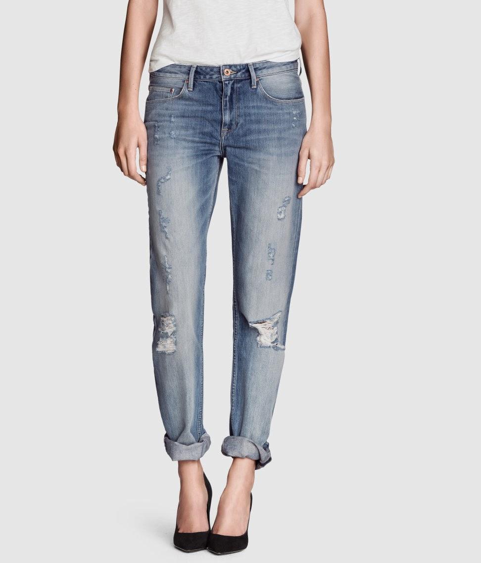 boyfriend jeans ripped