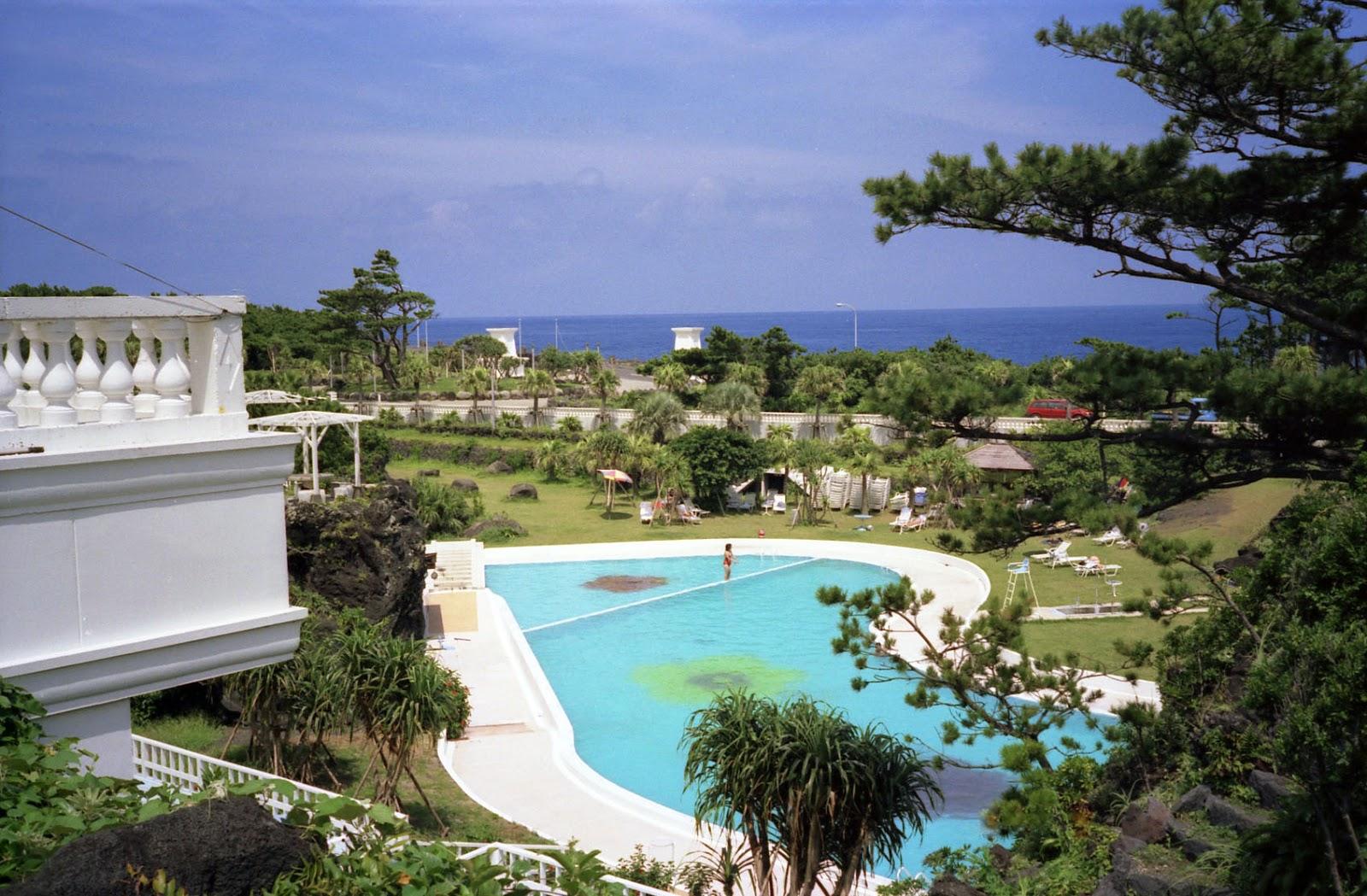 八丈島,ホテル,プール,海〈著作権フリー無料画像〉Free Stock Photos