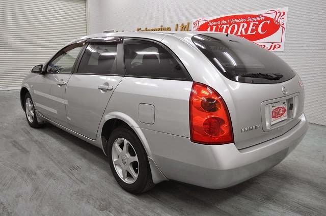 2003 Nissan Primera for Bahamas to Nassau