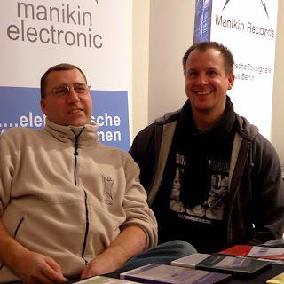 Thorsten Feuerherdt et Markus Horn, fondateurs de Manikin Electronic @ B-Wave 2013 / photo S. Mazars
