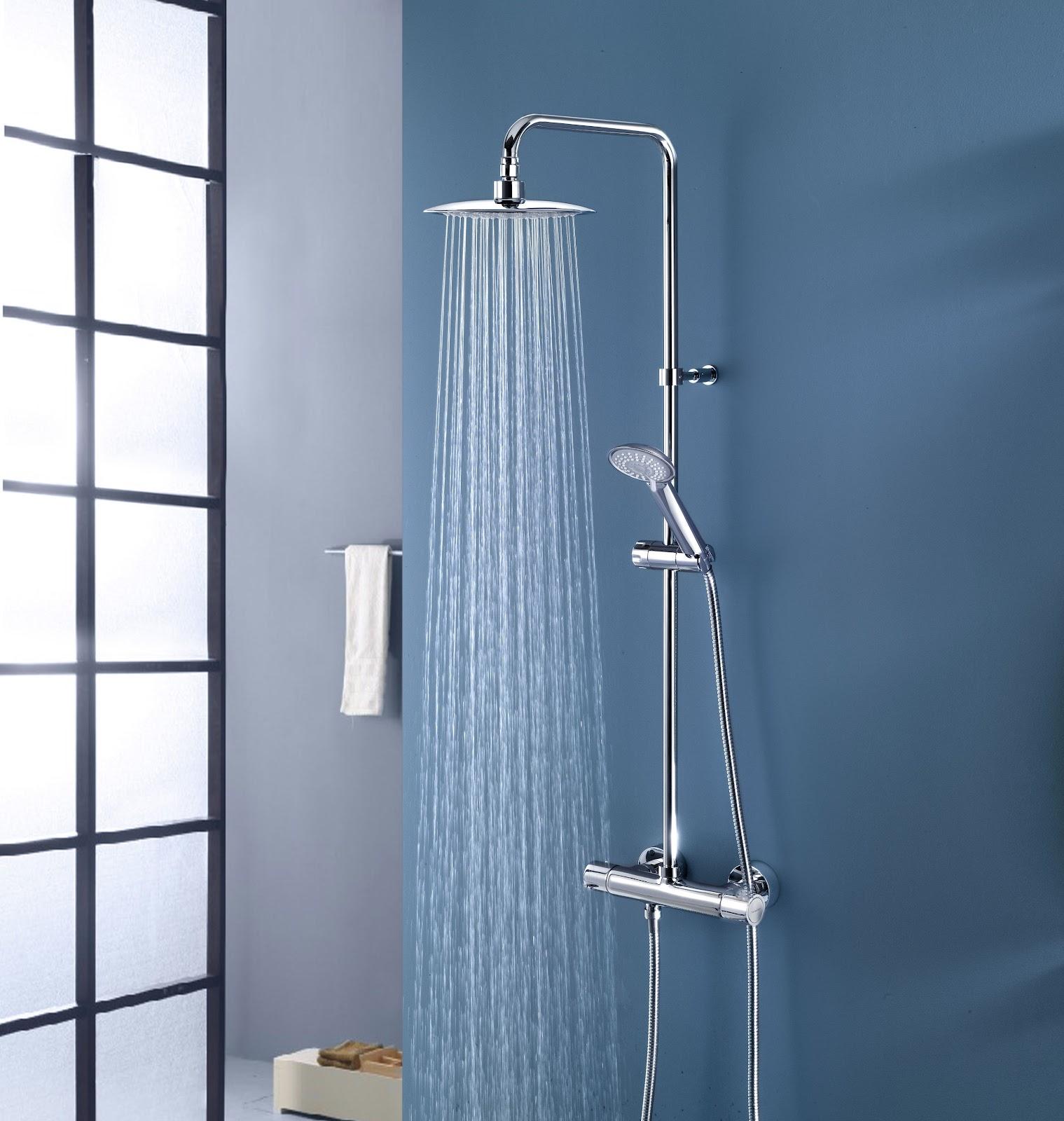 Baño En Ducha A Pacientes: fábrica de grifos de baño Ramón Soler nos presenta una gran ducha