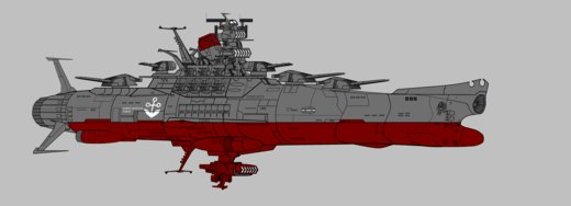 Space Battleship Yamato por StrikeFire