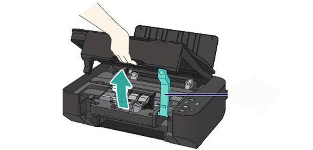 cambiar cartuchos canon mp230