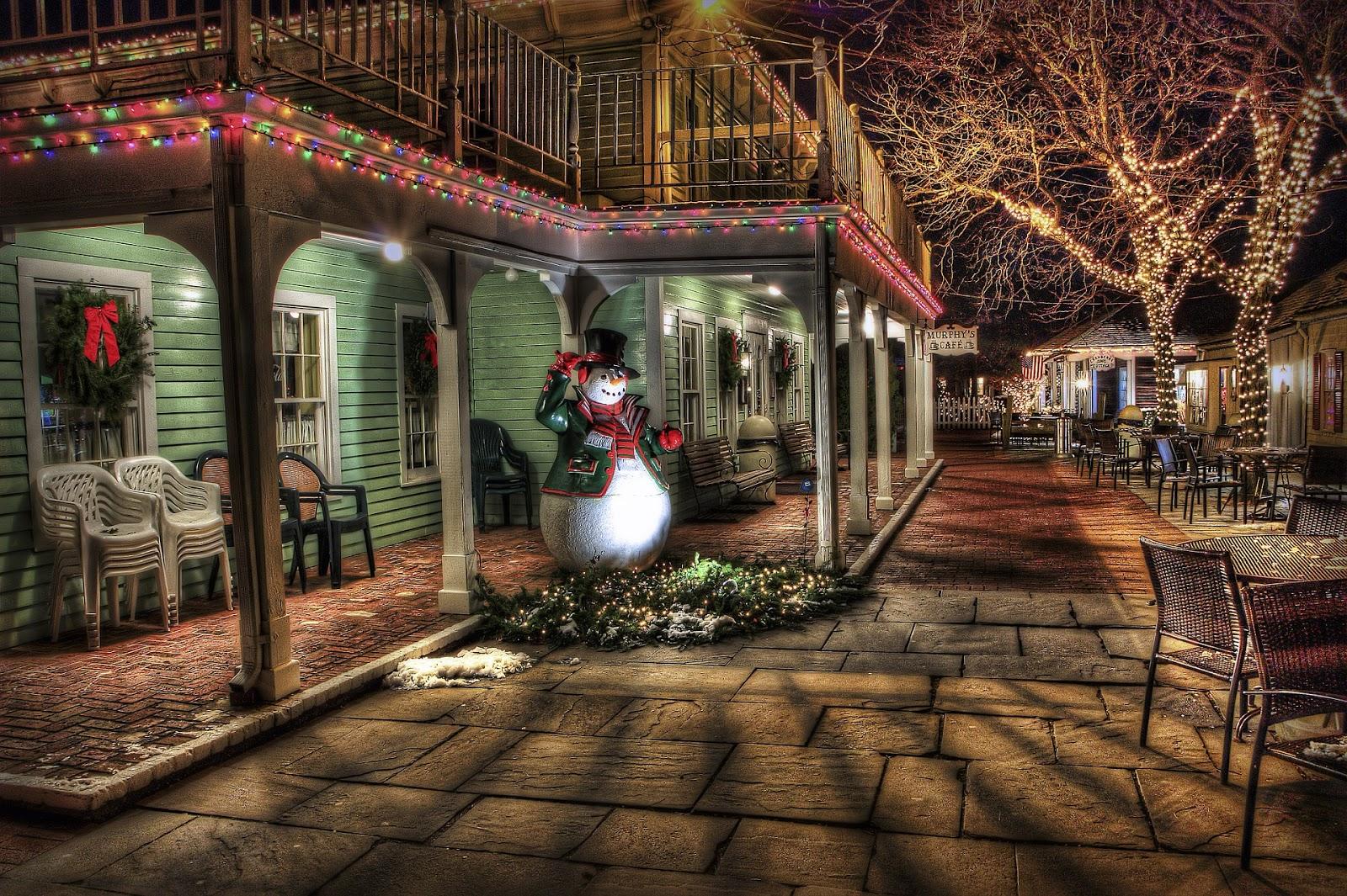 Amerikanische weihnachtsbeleuchtung haus im american style schm cken - Weihnachtsdeko amerikanisch ...