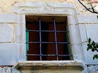Detall de finestra de Can Rosàs. Autor: Carlos Albacete