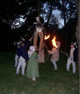 Revolutionary War Camp at Night Event