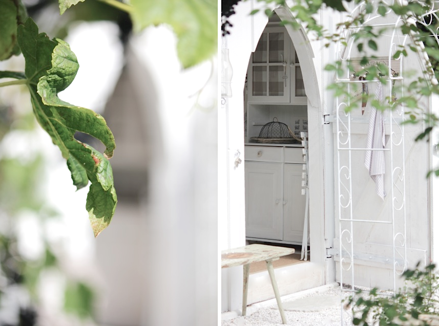 White and Shabby: MY LITTLE GARDEN SHED