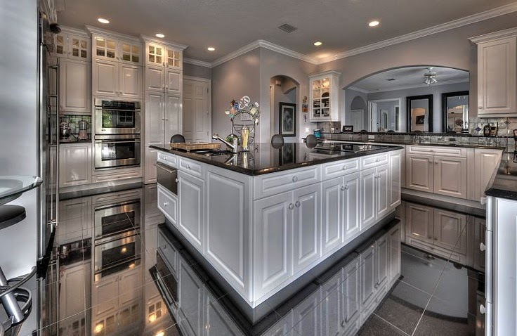 Tricked out mansions showcasing luxury houses stunning for Kitchen ideas 2015