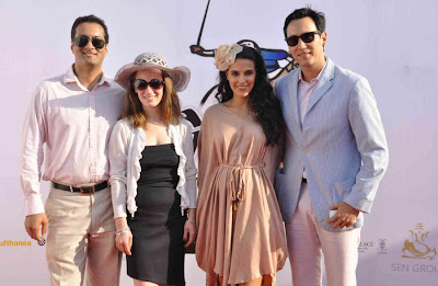 neha dhupia at 3rd asia polo match 2012 actress pics