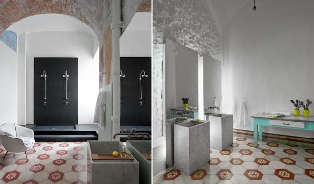 Очень просторная ванная комната