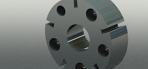 Rotor VVT Autodesk Inventor