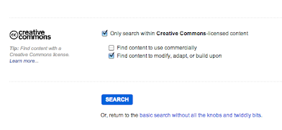 Search Creative Commons in Flickr