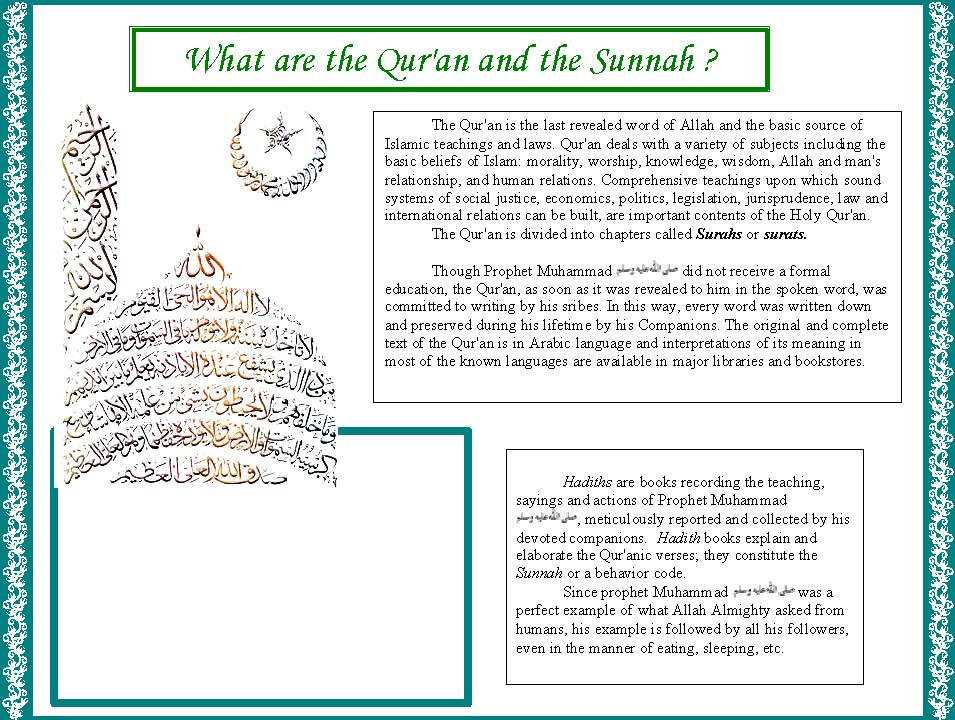 islam and basic beliefs Basic beliefs in islam  oneness of god: tawheed muslims believe that there is only one supreme god (allah) in islam to believe in allah is not only to believe in allah's existence but also to believe in all allah's attributions, to worship allah alone, and to obey all allah's commands.