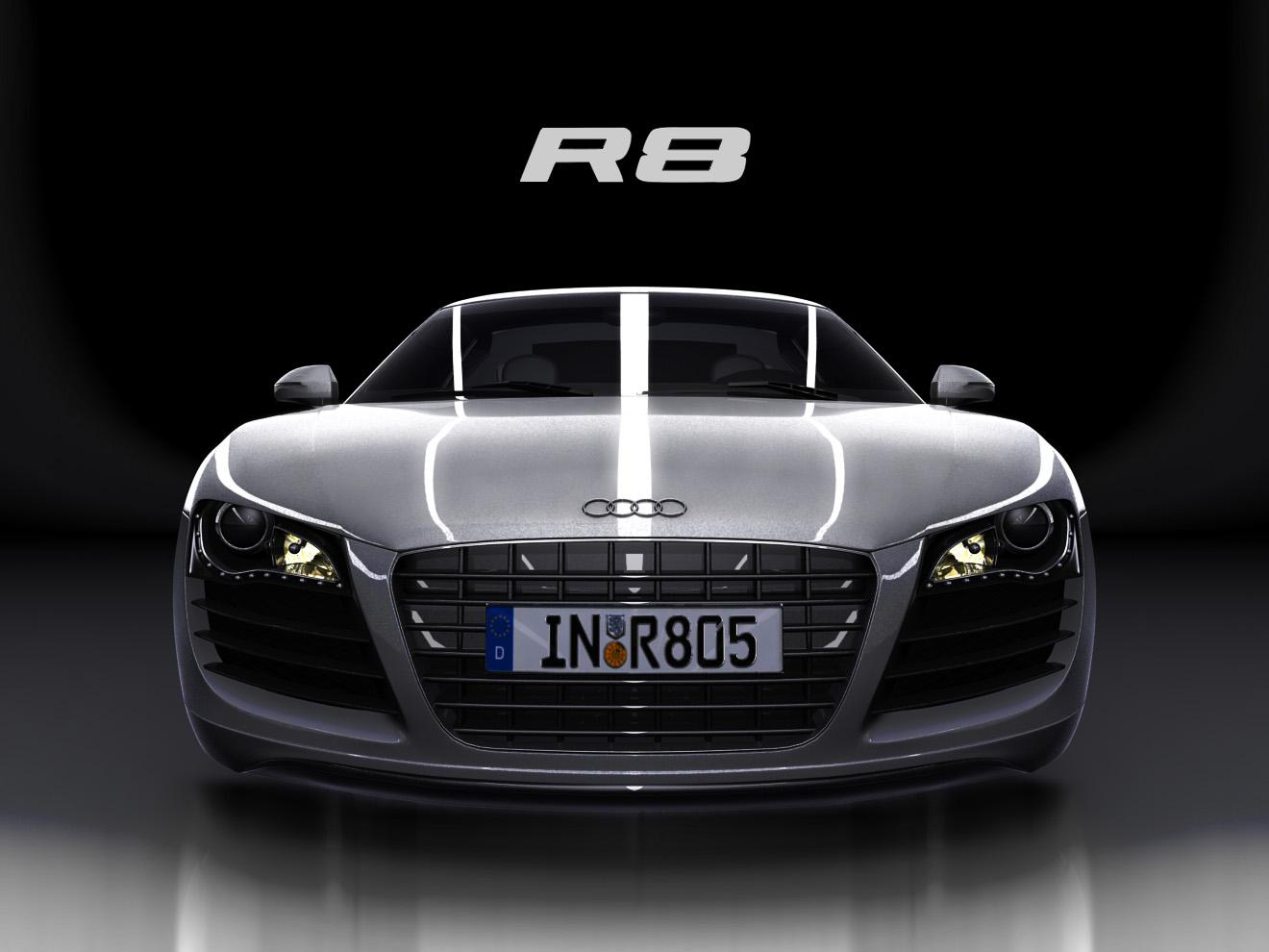 accidende de un Audi R8