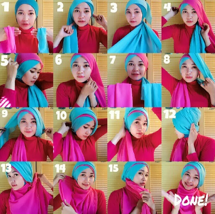 Hijab Untuk Wisuda 2015 Model Hijab Untuk Acara Wisuda