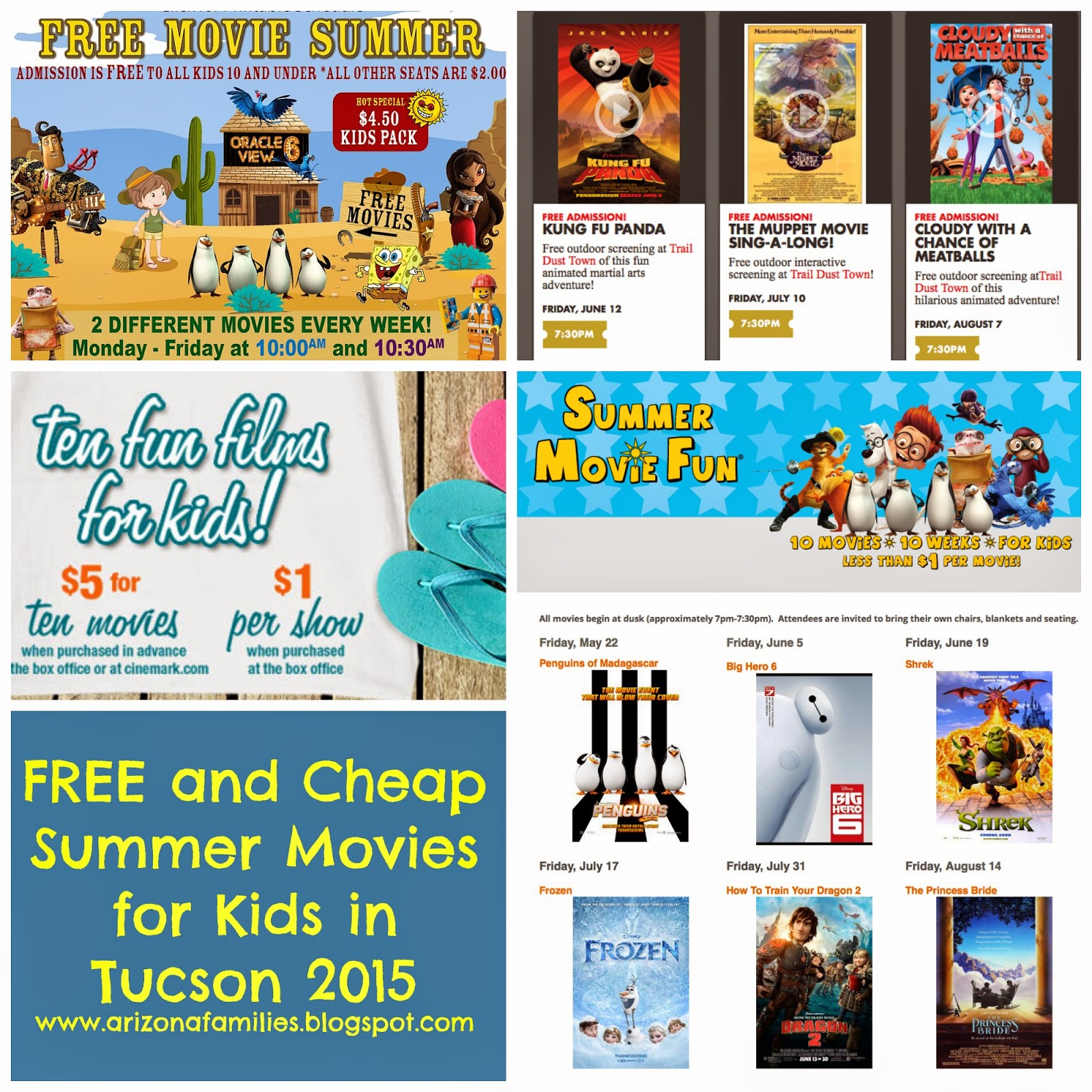 Arizona Families: Free and Cheap Summer Movies for Kids in ...