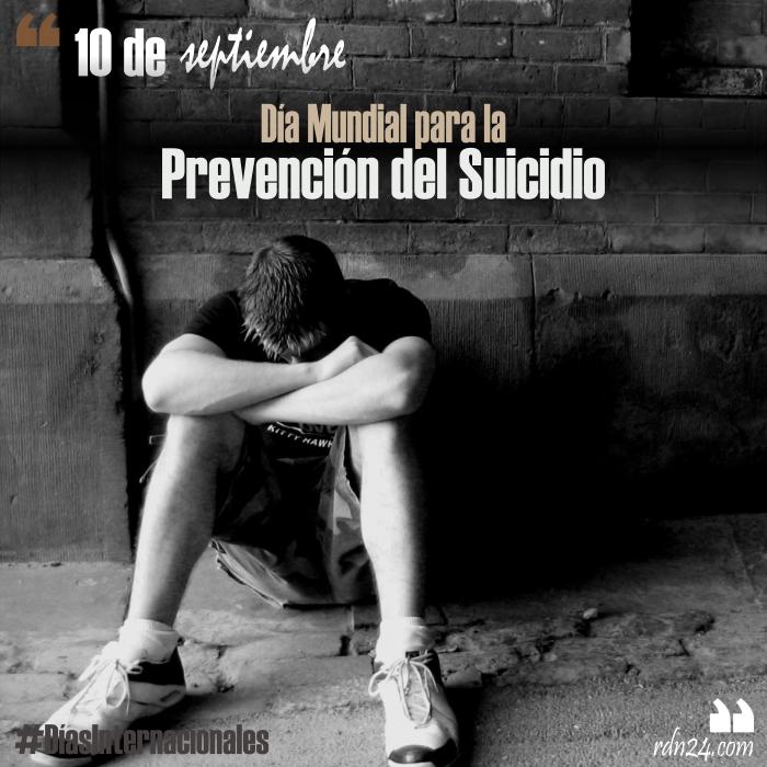 10 de septiembre – Día Mundial para la Prevención del Suicidio #DíasInternacionales