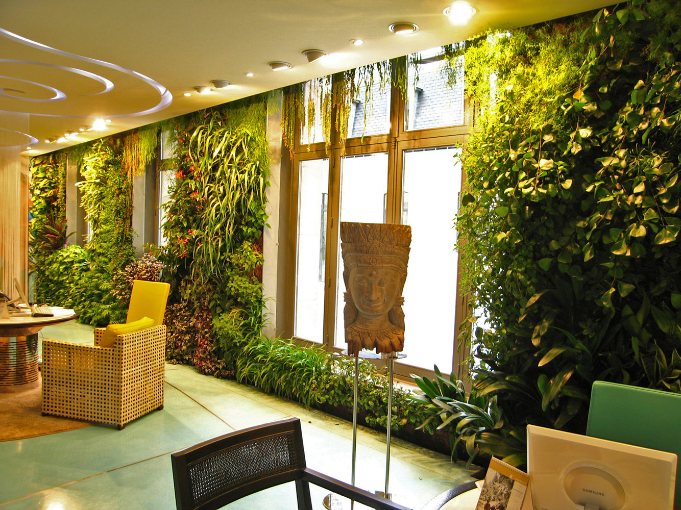 Vertical Herb Garden In Your Kitchen Manchester Piccadilly Vertical Gardens Gallery Examples From