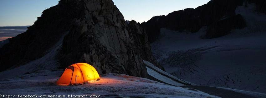 Une belle image de couverture facebook camping
