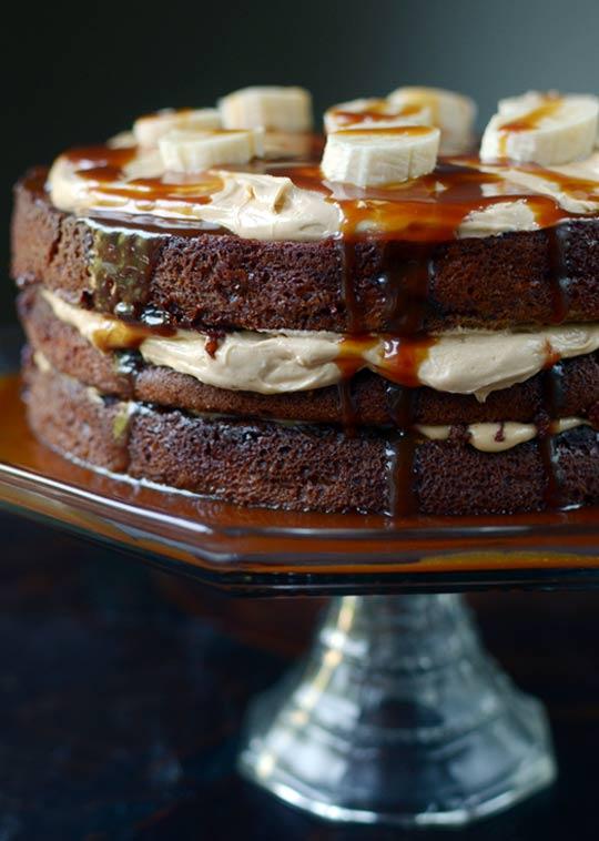 Caramel Banana Cake | Cook'n is Fun - Food Recipes, Dessert, & Dinner...