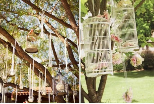 Shabby chic gardens 2012 wwwshabbycottageboutique a little shabby in your garden at this time of year wont go amiss here are some inspired ideas for your outside spacesi am loving the hanging birdcages workwithnaturefo