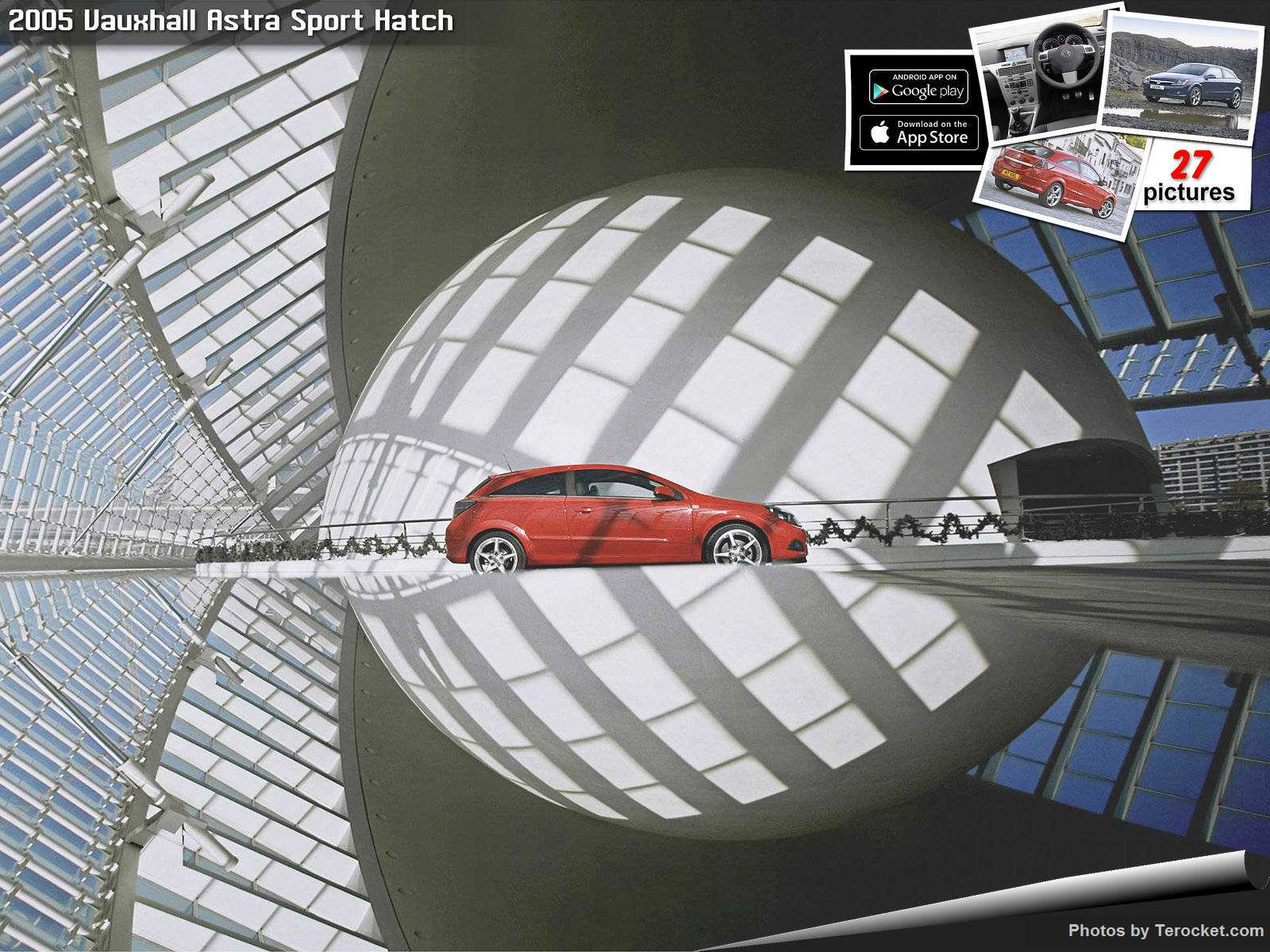 Hình ảnh xe ô tô Vauxhall Astra Sport Hatch 2005 & nội ngoại thất