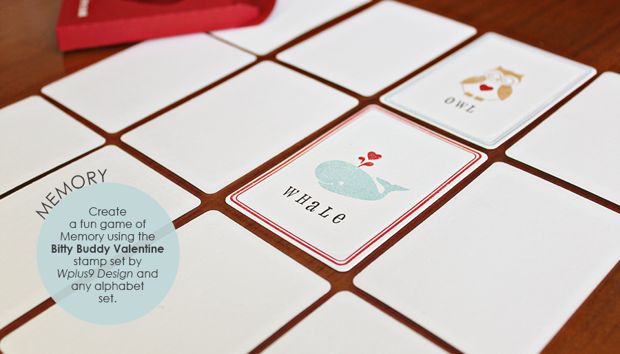memory card game template stamp away with me valentine card games