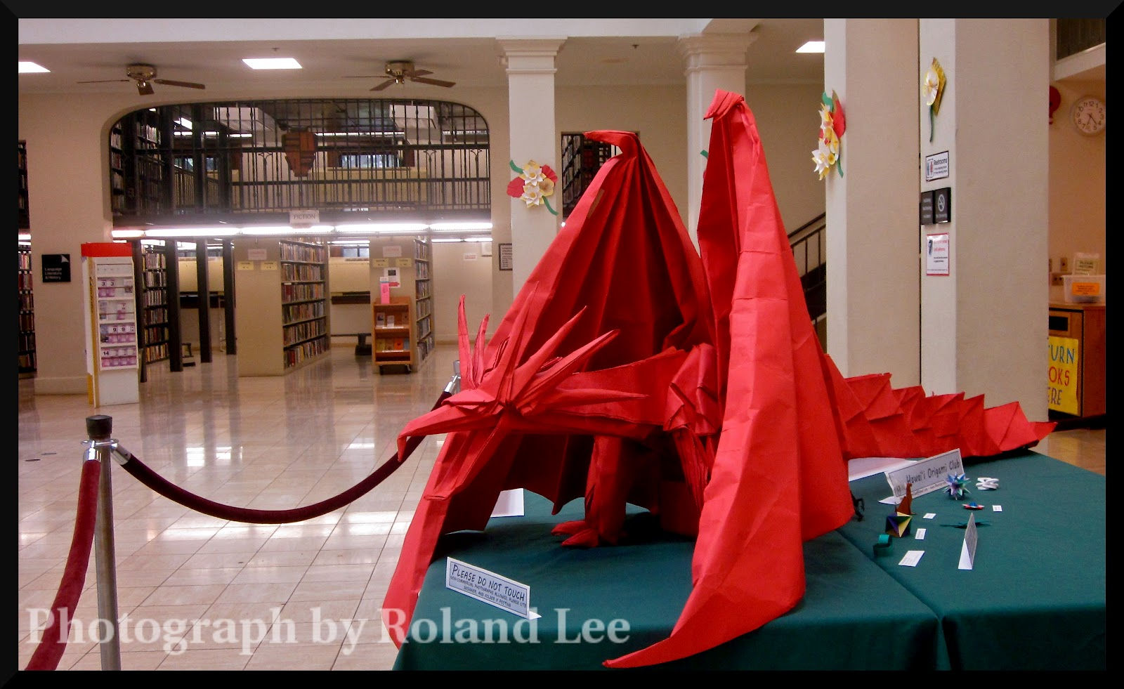 Honolulu Photo Of The Day Origami Dragon Style