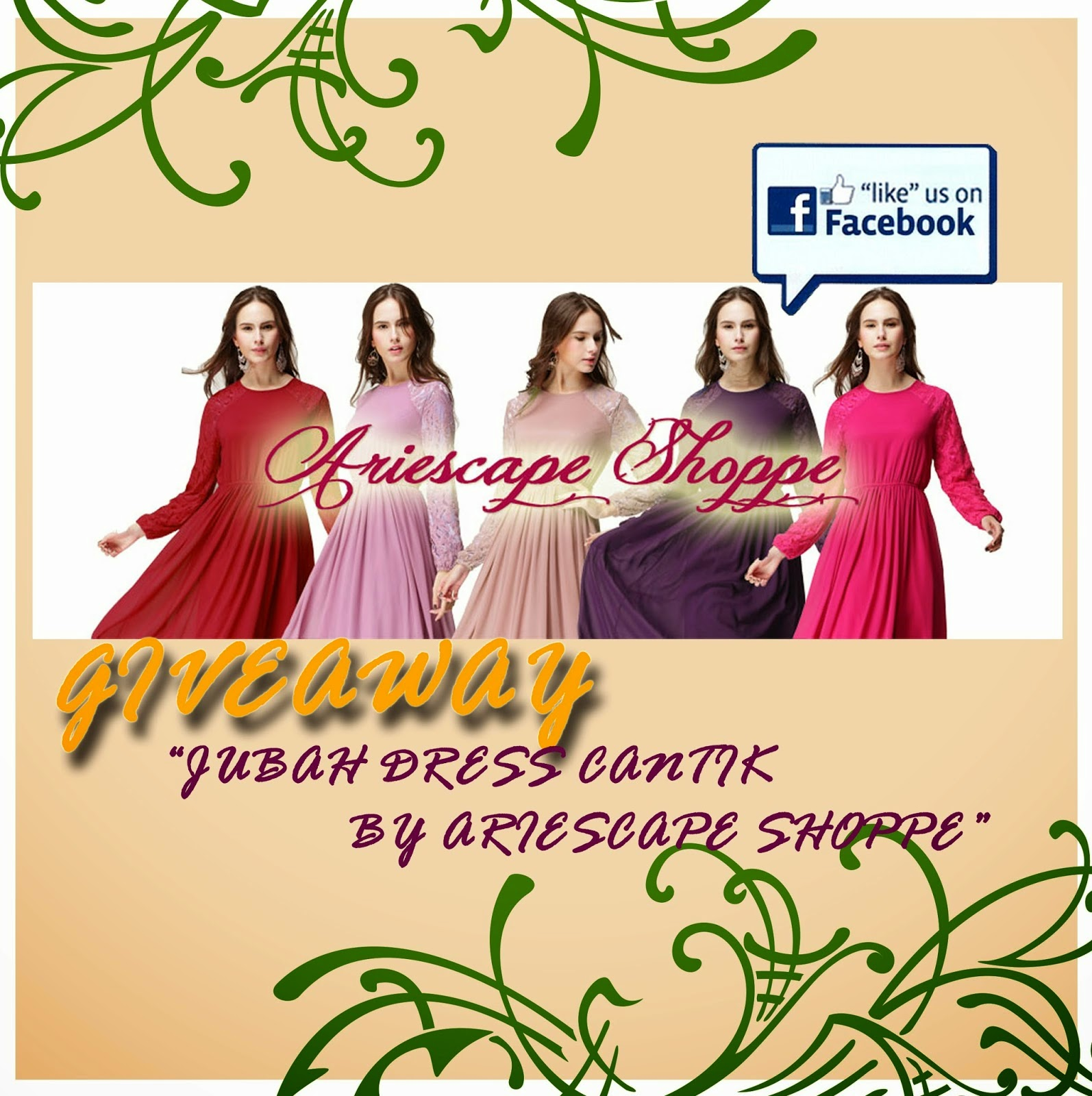 http://ariescape.blogspot.com/2014/08/giveaway-jubah-dress-cantik-by.html