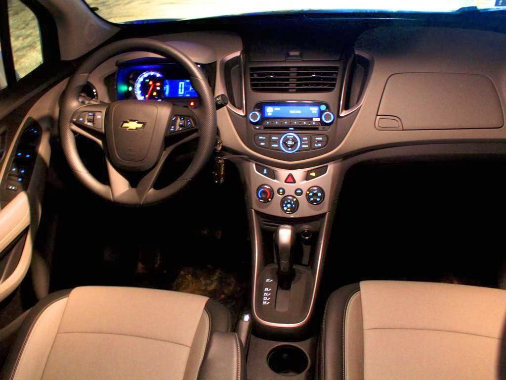 Chevrolet tracker ltz 2014 interior