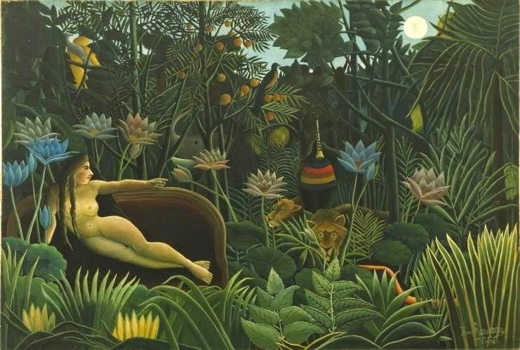 Henri Rousseau: Der Traum. 1910