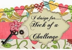 Honoured to be on the Design Team for Heck of a Challenge