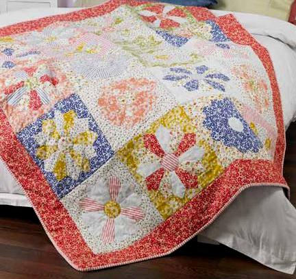 Dresden Plate Baby Quilt | Flickr - Photo Sharing!