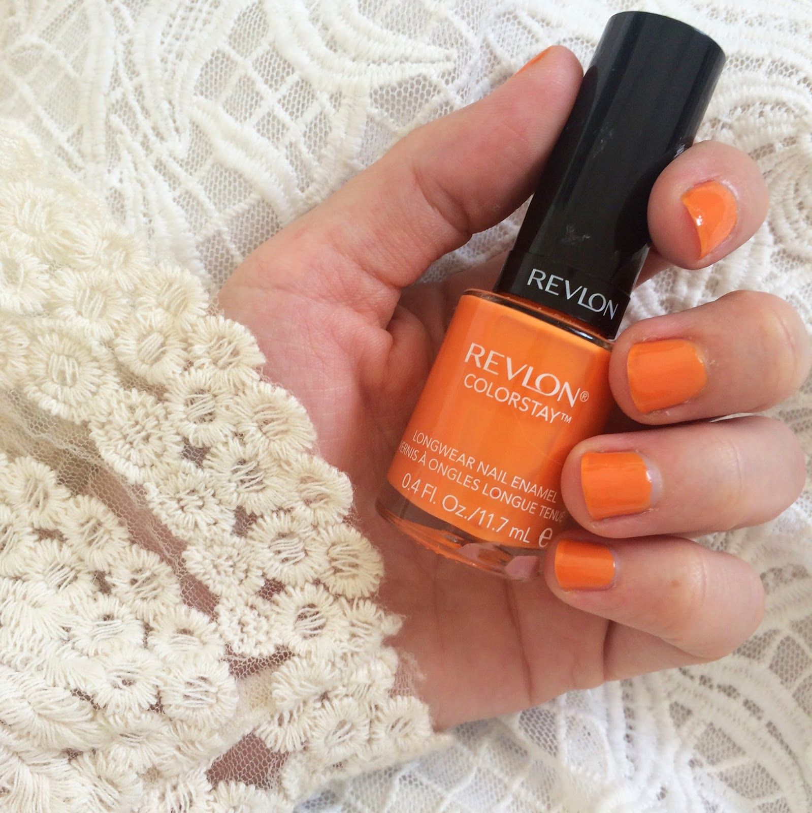Revlon Nail Polish in Sorbet