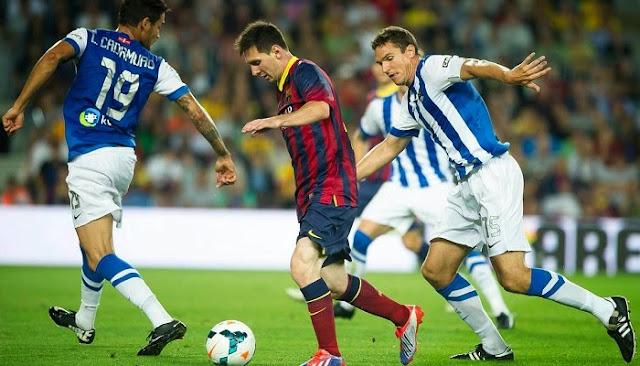 Barcelona vs Real Sociedad en vivo